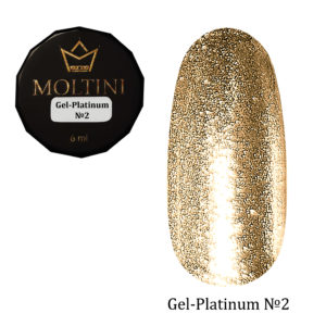 Гель-лак Moltini Platinum 02, 6 ml