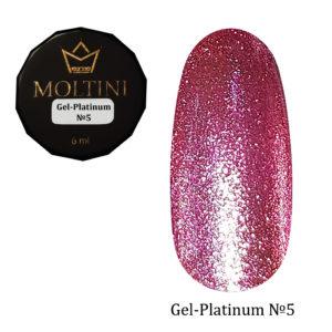 Гель-лак Moltini Platinum 05, 6 ml