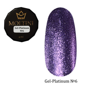 Гель-лак Moltini Platinum 06, 6 ml