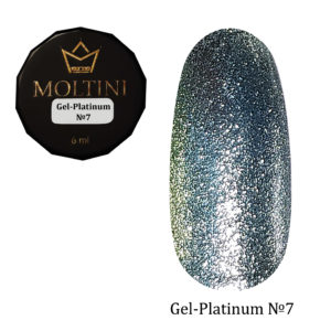 Гель-лак Moltini Platinum 07, 6 ml