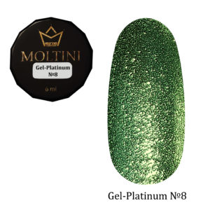Гель-лак Moltini Platinum 08, 6 ml