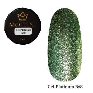 Гель-лак Moltini Platinum 08, 6 ml