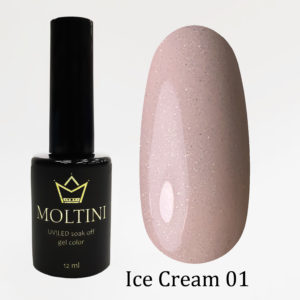 Гель-лак Moltini Ice Cream 001, 12 ml