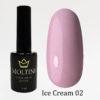 Гель-лак Moltini Ice Cream 002, 12 ml