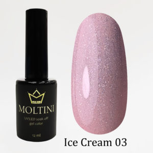 Гель-лак Moltini Ice Cream 003, 12 ml
