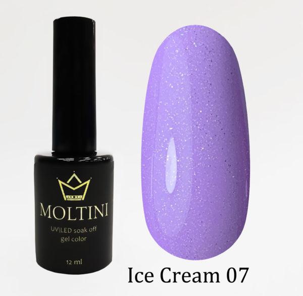 Гель-лак Moltini Ice Cream 007, 12 ml