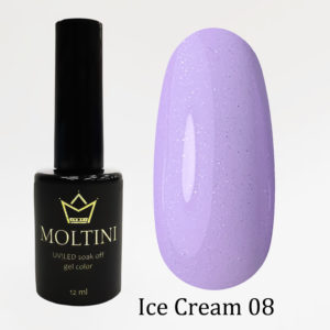 Гель-лак Moltini Ice Cream 008, 12 ml