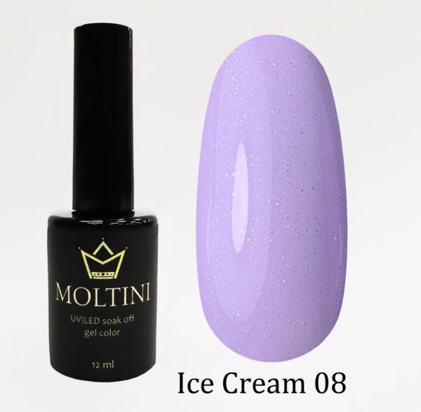 Гель-лак Moltini Ice Cream 008, 12 ml