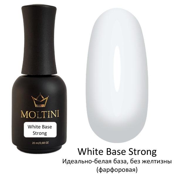 Каучуковая камуфлирующая база Moltini White Base Strong, 20 ml