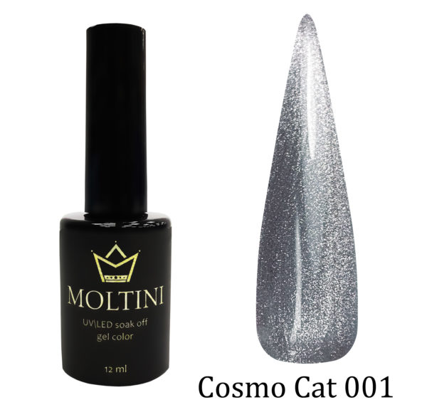 Гель-лак Moltini Cosmo Cat 001, 12 ml