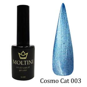 Гель-лак Moltini Cosmo Cat 003, 12 ml