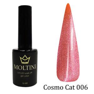 Гель-лак Moltini Cosmo Cat 006, 12 ml