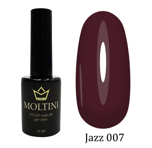 Гель-лак Moltini Jazz 007, 12 ml
