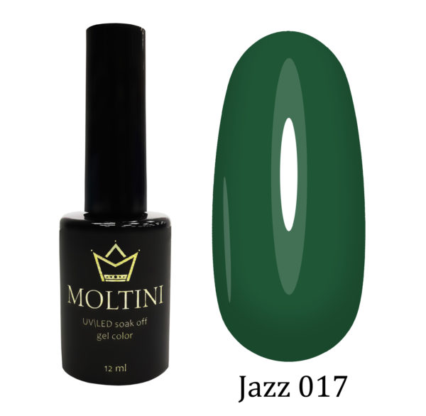 Гель-лак Moltini Jazz 017, 12 ml