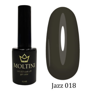 Гель-лак Moltini Jazz 018, 12 ml