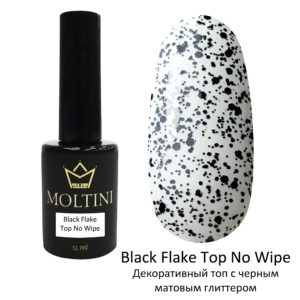 Топ Moltini Top Black Flake No Wipe, 12 ml