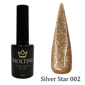 Гель-лак Moltini Silver Star 002, 12 ml