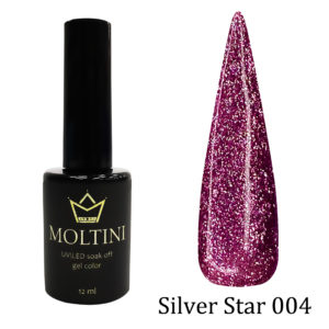 Гель-лак Moltini Silver Star 004, 12 ml