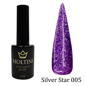 Гель-лак Moltini Silver Star 005, 12 ml