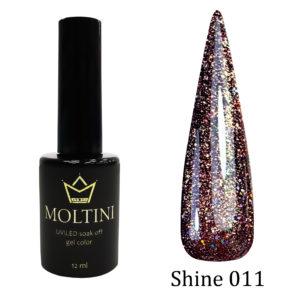 Гель-лак Moltini Shine 011, 12 ml