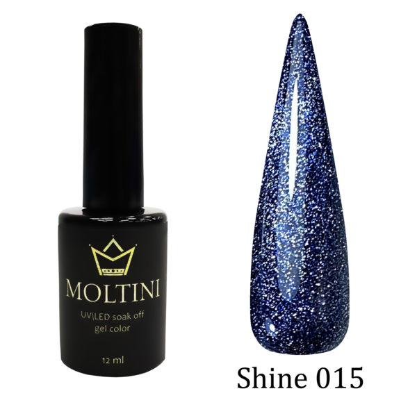 Гель-лак Moltini Shine 015, 12 ml