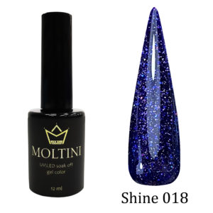 Гель-лак Moltini Shine 018, 12 ml