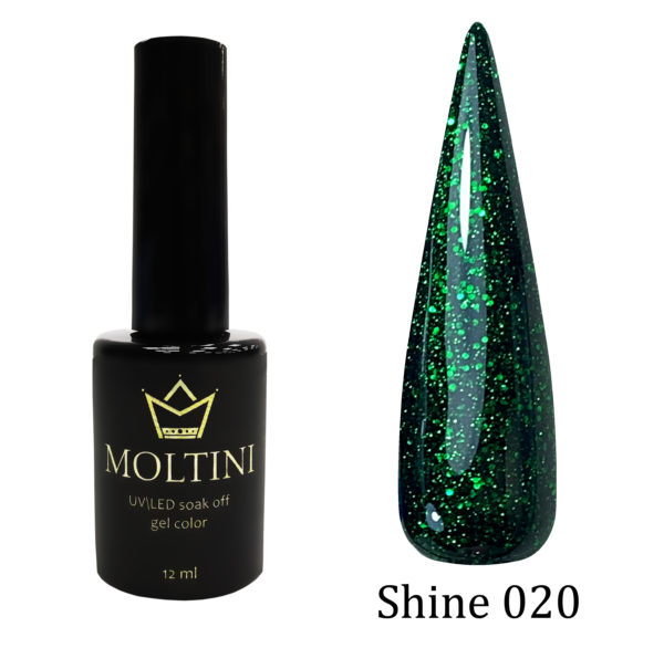 Гель-лак Moltini Shine 020, 12 ml