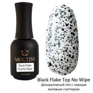 Топ Moltini Top Black Flake No Wipe, 20 ml