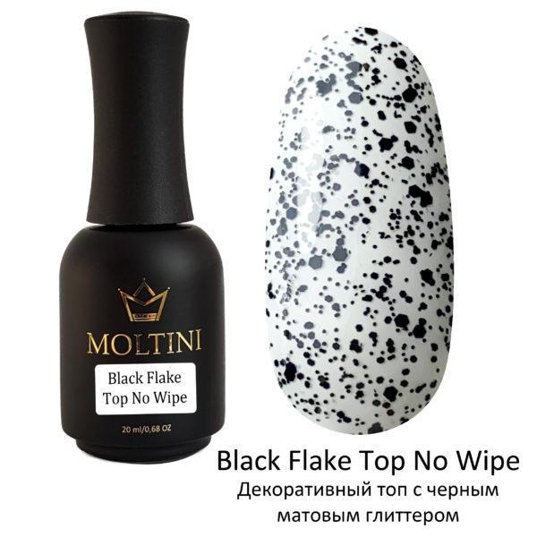 Топ Moltini Top Black Flake No Wipe, 20 ml