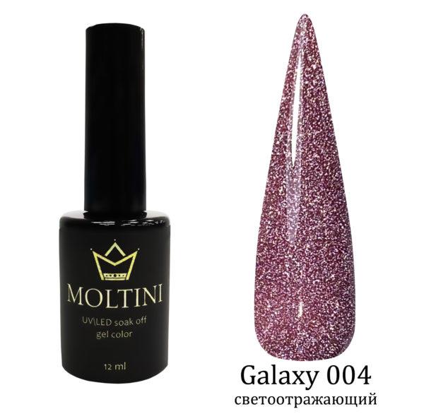 Гель-лак Moltini Galaxy 004, 12 ml