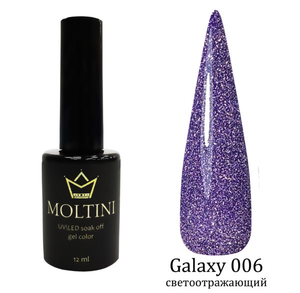 Гель-лак Moltini Galaxy 006, 12 ml
