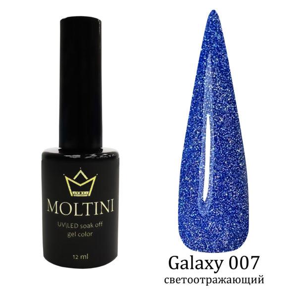 Гель-лак Moltini Galaxy 007, 12 ml