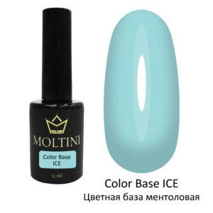 Moltini Цветная база Color Base ICE (ментоловая) 12 мл.